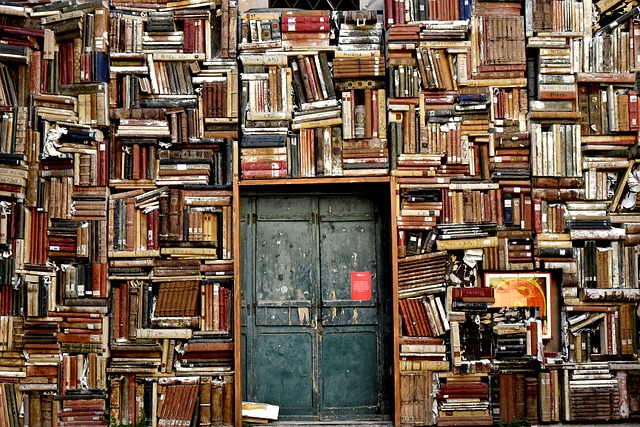 knihy u dveří