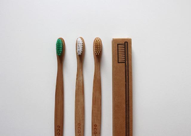 Ekologické kartáčky na zuby