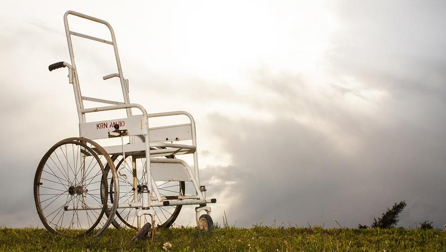 invalidní křeslo